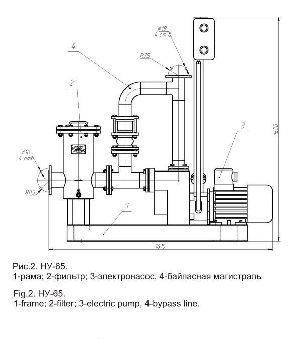 Насосная установка НУ-65