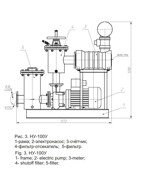 Насосная установка НУ-100У